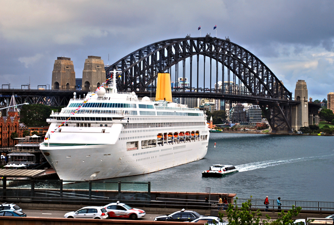 Cruise Ship Transfers Sydney Shuttle Bus From STG Sydney - Cruise ship movements sydney harbour